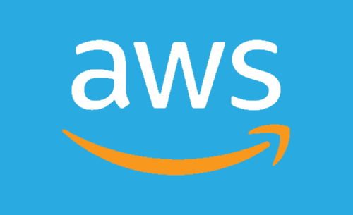 amazon aws blue