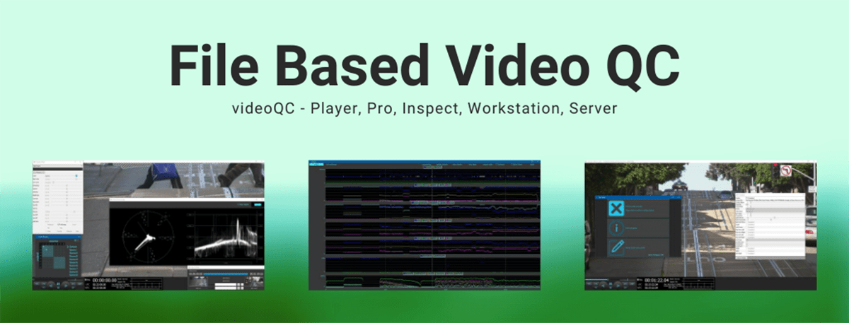 Video quality control analyzer and player