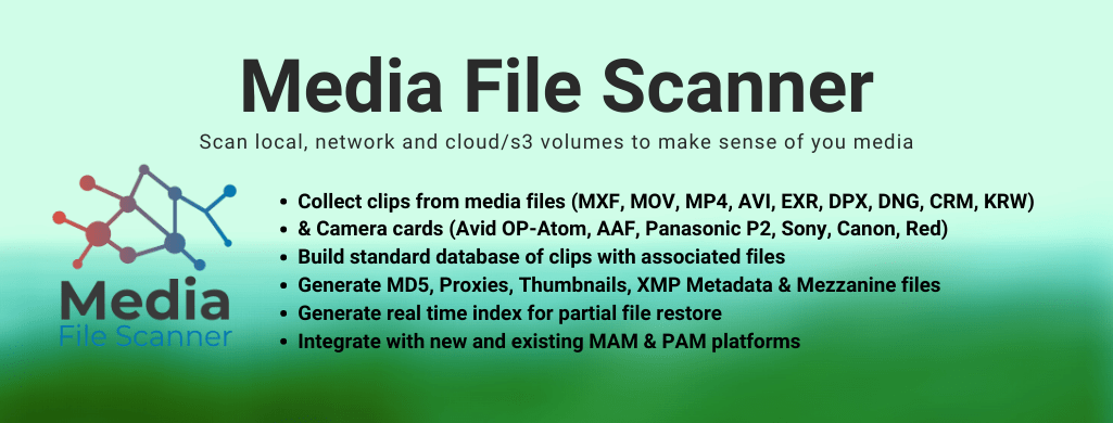 Media File Scanner add on for Net-X-Code
