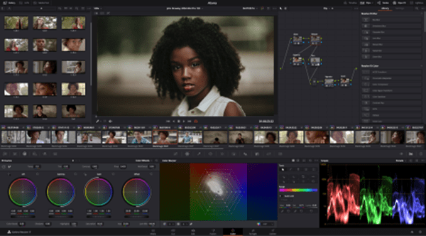 DaVinci Resolve color x470