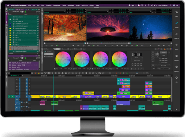 Media Composer Symphony Video Editing Software Interface x470